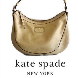 Beautiful Kate Spade Tan Vintage Hobo